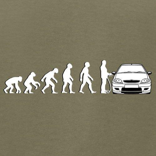 Evolution of Man - Saxo Fahrer - Herren T-Shirt - 13 Farben Khaki