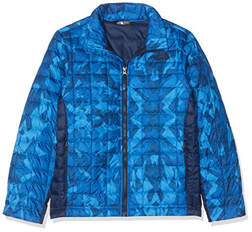 The North Face Jungen Thermoball Fleeze Jacket Daunenjacke,Blau (Turkish Sea), L - Boys Jacket Down Face North