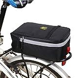 Sunzit Borsa Bicicletta, Outdoor Sport Impermeabile Lampada per Sedile Trunk Bag Bici Bicicletta Borsa da Sella Borsa Portapacchi per Tutte Le Bicicletta