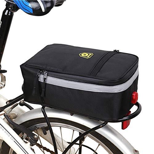 Sunzit Gepäckträger Tasche, Outdoor Sport Wasserdicht Fahrrad Trunk Bag Fahrradtasche Satteltasche für Alle Fahrrad