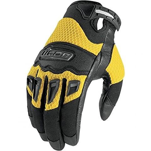 Icon Twenty Niner Gloves - 3X-Large/Yellow