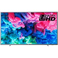 Philips 50PUS6523/12 50-Inch 4K Ultra HD Smart TV with HDR Plus and Freeview Play - Dark Silver (2018 Model)