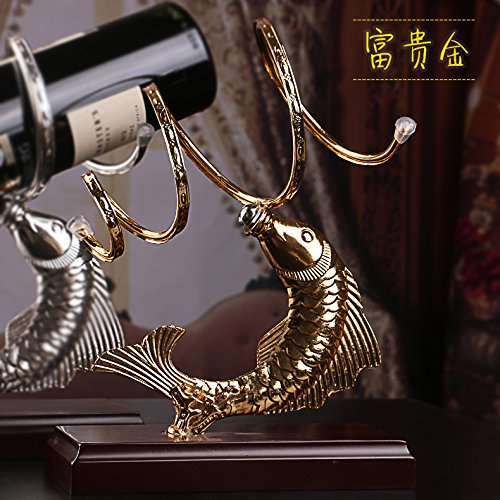 51ovEL7WowL BEST BUY #1BEEST Creative Wine rack Iron art solid wood wine shelf decoration fashion wine bottle rack,Silver price Reviews uk