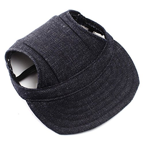 huuation Pet Mütze Hot Sale Oxford Sports Baseball Cap mit Ohrenaussparung für kleine Pet Hunde Cute Pet Hat 4 Farben