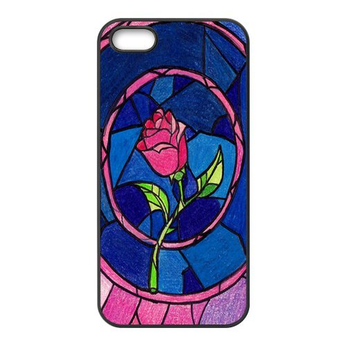 Coque pour iPhone 5S, Beauty And The Beast Designs Back Case Cover For Apple iPhone 55S, Apple iPhone 55shülle Étui Coque Case Cover
