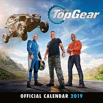 Top Gear Official 2019 Calendar - Square Wall Calendar Format