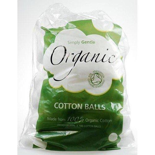 Org Boules de coton (100 g) x Lot de 6
