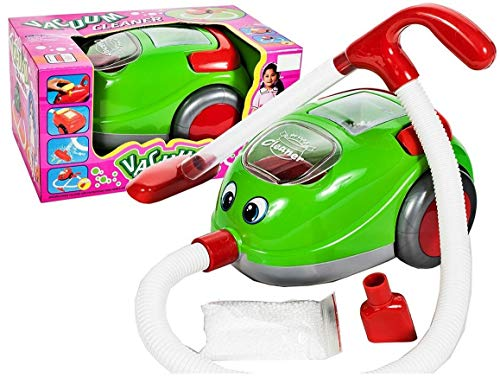 Premium Kinderstaubsauger Vacuum Cleaner Saugfunktion Licht Musik - Staubsauger Spielzeug Sauger Spielzeugsauger hoher Spaßfaktor wie Kroko doc