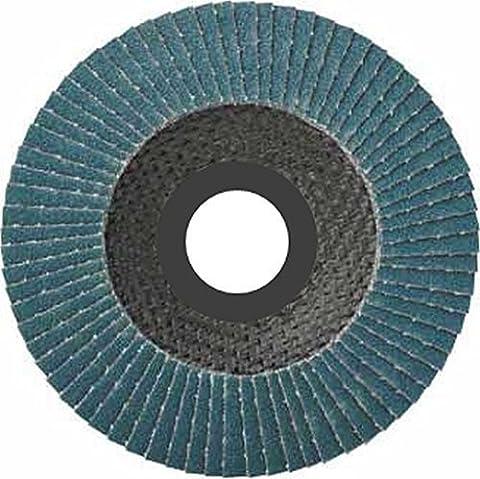 Lot de 10assiettes Inox compartiments Disques 125mm Grain 60à lamelles ponçage Mop