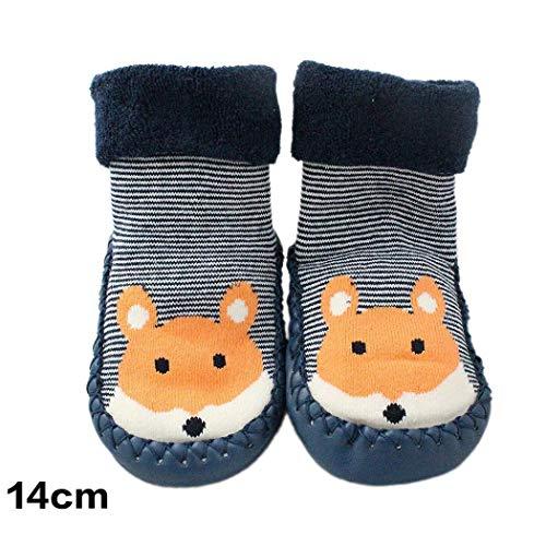 Kaimus calzini antisdrucciolevoli per calzettoni invernali unisex in morbido cotone a righe calze