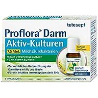 tetesept Proflora Darm Aktiv-Kulturen Trinkampullen – 7,5 Mrd. Milchsäurebakterien in Trinklösung, ergänzt um... preisvergleich bei billige-tabletten.eu