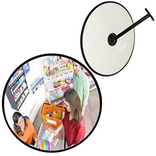 Specchio convesso di sicurezza 30 cm specchio di osservazione e di ispezione panoramico interni ed esterni grandangolo