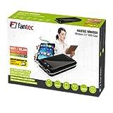 """FANTEC MWiD25 Mobiles WLAN Festplattengehäuse (6,35cm (2,5""""), USB 3.0, Akku integriert) schwarz"""
