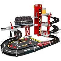 Bburago-Maisto - 30197 - Ferrari Racing Garage - Echelle 1/43 - Rouge/Noir