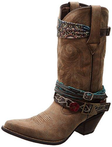 Durango Frauen dcrd145Western-Boot, Braun - Braun - Größe: 38 EU (M) Damen-western-stiefel Größe 7