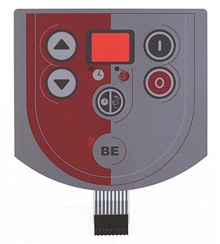 Preisvergleich Produktbild Sammic Folientastatur für BE-10,  BE-10C,  BE-20,  BE-20C,  BE-20I 5 Tasten Länge 130mm Breite 123mm BC 10