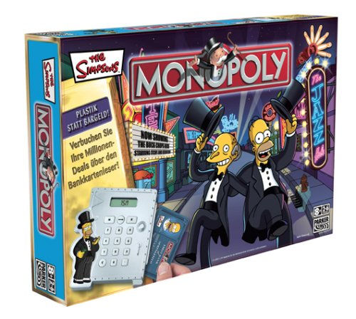 Hasbro - Parker 40048100 - Monopoly Simpsons