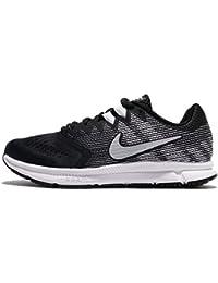 Nike Zoom Span 2, Scarpe da Trail Running Uomo, Multicolore (Black/Metallic Silver/Dark Grey/White 001), 42.5 EU