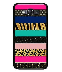 Fuson Designer Back Case Cover for Samsung Galaxy J5 (2015) :: Samsung Galaxy J5 Duos (2015 Model) :: Samsung Galaxy J5 J500F :: Samsung Galaxy J5 J500Fn J500G J500Y J500M (Zebra Stripes Bars Blocks Polka Dots )
