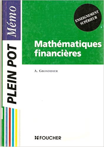 Téléchargement MATHEMATIQUES FINANCIERES pdf, epub ebook