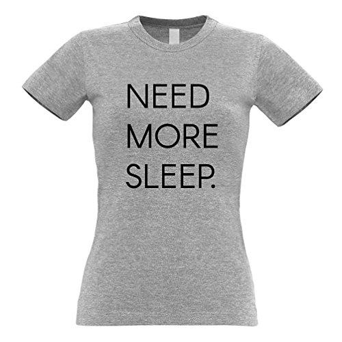 Tim And Ted Benötigen Sie Mehr Schlaf Müde Sleepy Gähnen Naps Lustiger Slogan Asleep Frauen T-Shirt