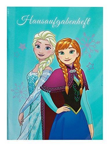 Undercover Hausaufgabenheft A5, Disney Frozen