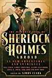 Front cover for the book The Mammoth Book of Sherlock Holmes Abroad by Simon Clark
