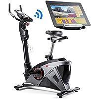 Preisvergleich für Hop-Sport Ergometer HS-090H Heimtrainer Bluetooth 4.0 Smartphone Steuerung 32 Widerstandsstufen Schwungmasse 13 kg belastbar bis 150 kg WATT Programm