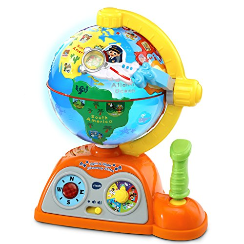 VTech 197803 Light and Flight Discovery Globe