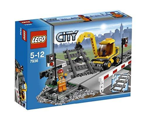 LEGO City 7936 - Bahnübergang (Lego Bahnübergang)