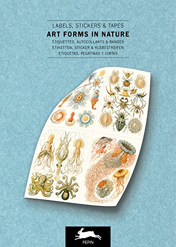 Art Forms in Nature: Label & Sticker Book: Label, stickers & tapes