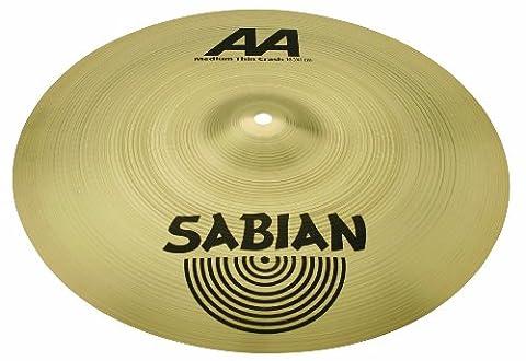 Sabian - Cymbales crash AA 16'' MEDIUM THIN CRASH