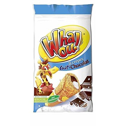 Whaou! crepes lait chocolat 256g - ( Prix Unitaire ) - Envoi Rapide Et Soignée