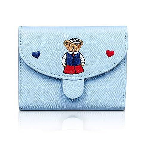 Fency , Damen-Geldbörse blau blau