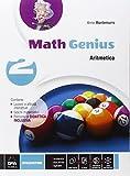 Math genius. Aritmetica-Geometria-Palestra delle competenze. Per la Scuola media. Con e-book. Con espansione online: 2 - DE AGOSTINI SCUOLA - amazon.it