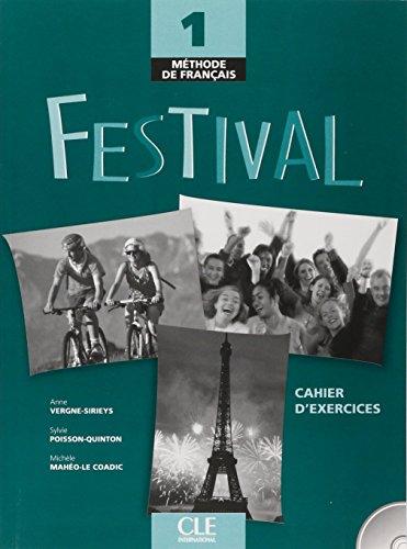 Festival 1 - Cahier d'exercices + CD audio