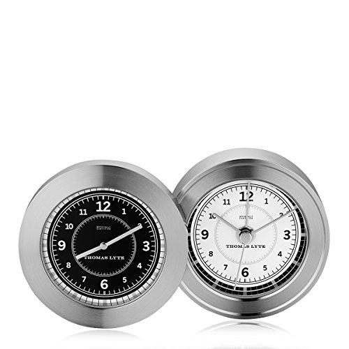 wells-double-face-horloge-plaque-argent