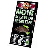 Alter eco chocolat noir éclats de menthe bio 100g Envoi Rapide Et Soignée ( Prix Par Unité )
