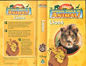 Disney's Magical World of Animals : Lions (Video Tape/PAL)