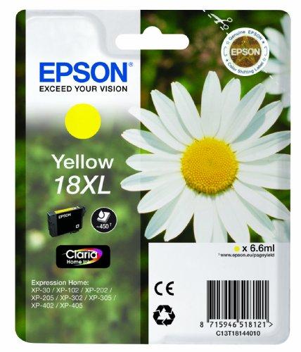 Epson - Pâquerette 18 XL - T1814 - Cartouche d'encre - Jaune