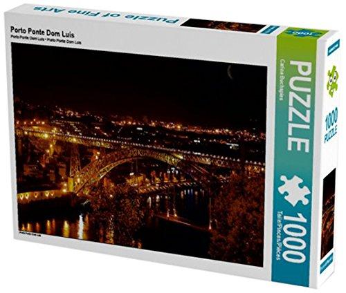 Preisvergleich Produktbild Porto Ponte Dom Luis 1000 Teile Puzzle quer (CALVENDO Orte)