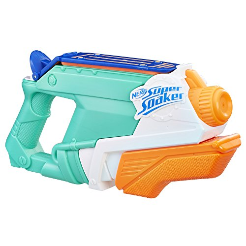 Super Soaker SplashMouth Splash Mouth, Color Azul, Naranja, Blanco (Hasbro E0021EU4)