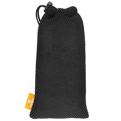 Phone case & Hülle Für IPhone 6 Plus / 6s Plus, Nylon Mesh Tasche Tasche mit Stay Cord ( Color : Black ) Black