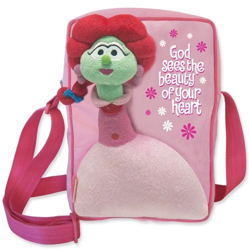 enesco-veggie-tales-by-gregg-gift-carry-all-sweet-pea-tote-bag-925-inch