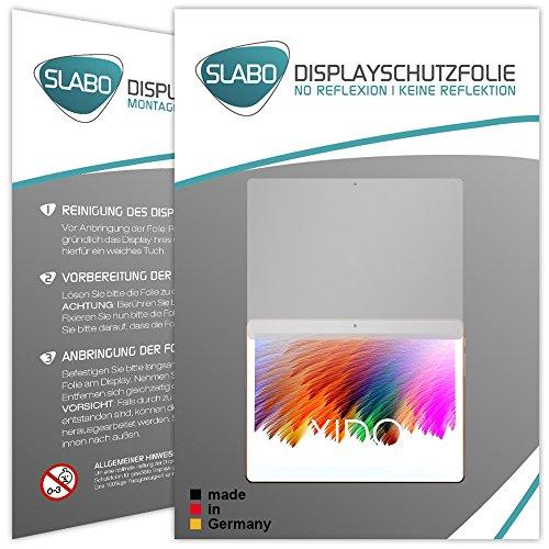 Slabo 2 x Bildschirmschutzfolie XIDO X111 Bildschirmschutz Schutzfolie Folie No Reflexion|Keine Reflektion MATT - Entspiegelnd Made IN Germany