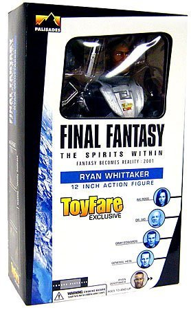 Final Fantasy Movie: 12 Ryan Whittaker Action Figure (ToyFare Exclusive) by Final Fantasy