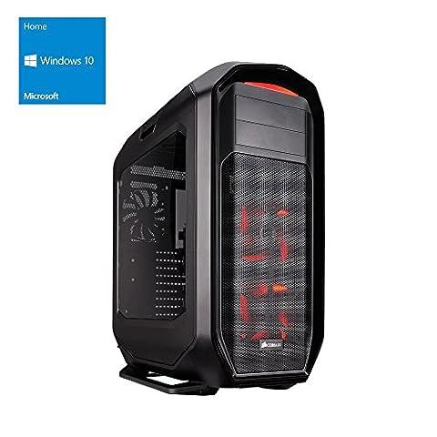 one Silent High-End Gaming-PC Intel Core i7-7700K, 4x 4.20 GHz | Corsair H80i Wasserkühlung | 32 GB DDR4 2133 MHz RAM | 250GB SSD/2000GB HDD | Mainboard MSI Z270-A Pro | BLU-RAY Brenner | 8 GB NVIDIA GeForce GTX 1080 | GigaBit-LAN | USB 3.0 | Windows 10 Home 64-Bit