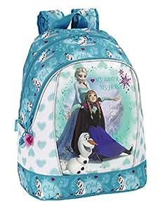 Safta 611 538 585 - Zainetto di Frozen, soggetto: Anna & Elsa, compatibile con trolley