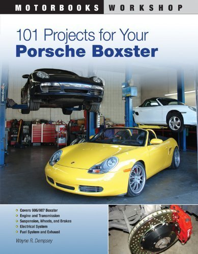 101-projects-for-your-porsche-boxster-motorbooks-workshop-by-dempsey-wayne-r-2011-paperback