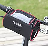 Docooler Fahrrad Vorne Lenker Tasche Korb Transparent PVC Beutel für Anzeigen